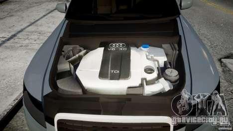 Audi A6 TDI 3.0 для GTA 4 вид сзади