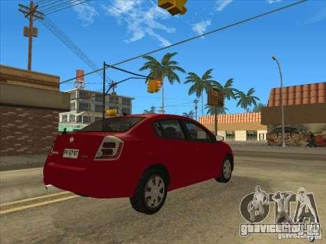Nissan Sentra 2012 для GTA San Andreas вид слева