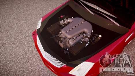 Cadillac CTS-V Coupe для GTA 4 вид снизу