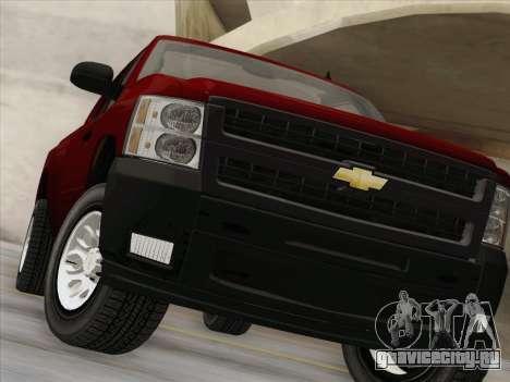 Chevrolet Silverado 2500HD 2013 для GTA San Andreas вид сверху