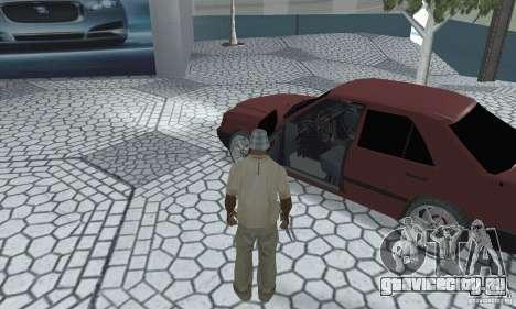 Mercedes-Benz 200D для GTA San Andreas вид сзади