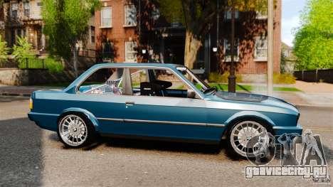 BMW E30 V8 Drift для GTA 4 вид слева