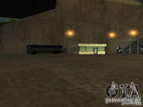 Автобусный парк v1.1 для GTA San Andreas шестой скриншот