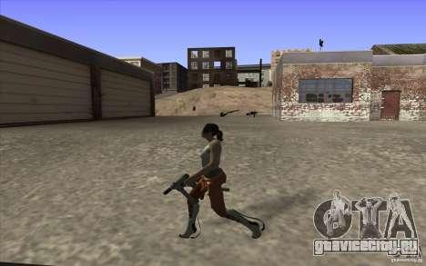 Chell from Portal 2 для GTA San Andreas четвёртый скриншот