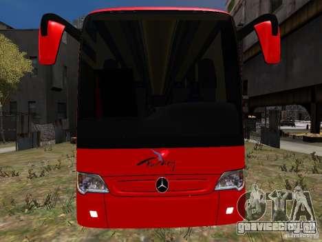 Mercedes Travego для GTA 4 вид сверху