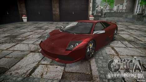 Lamborghini Murcielago v1.0b для GTA 4 вид сзади