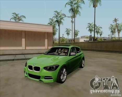 BMW M135i V1.0 2013 для GTA San Andreas вид слева