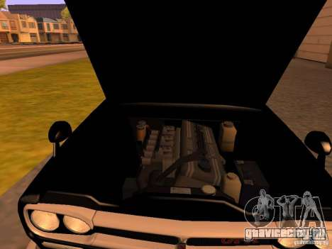 Nissan Skyline 2000GTR для GTA San Andreas вид сзади