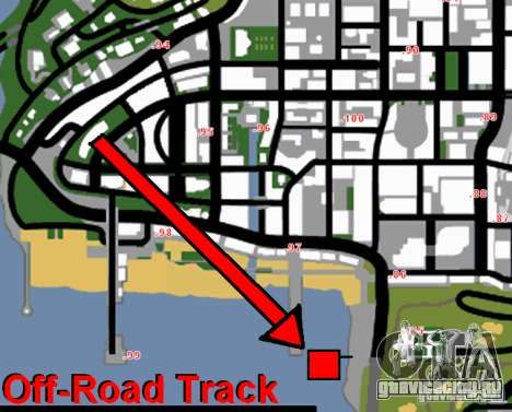 Off-Road Track для GTA San Andreas пятый скриншот