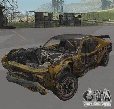 Boxer from FlatOut2 для GTA San Andreas вид сзади слева