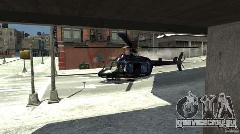 NYC Helitours Texture для GTA 4 вид справа