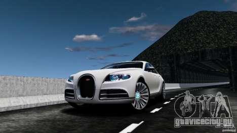 Bugatti Galibier 2009 для GTA 4