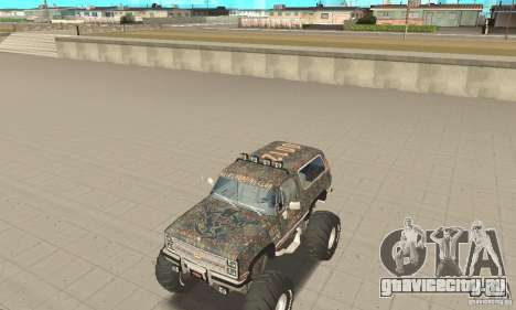 Chevrolet Blazer K5 Monster Skin 6 для GTA San Andreas вид слева