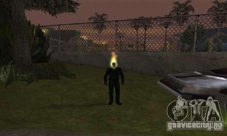 Призрачный гонщик для GTA San Andreas третий скриншот