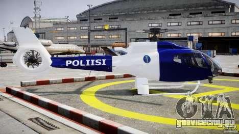 Eurocopter EC 130 Finnish Police для GTA 4 вид изнутри