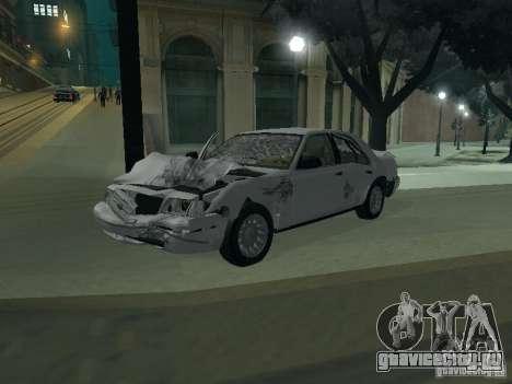 Ford Crown Victoria для GTA San Andreas салон