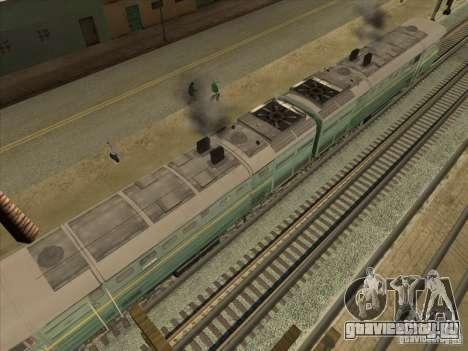 2ТЭ10В-3594 для GTA San Andreas вид сбоку