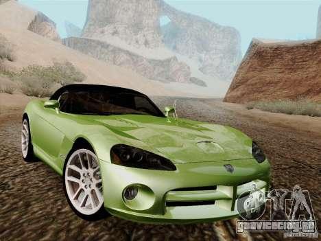 Dodge Viper SRT-10 Roadster для GTA San Andreas