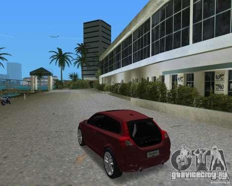 Volvo C30 для GTA Vice City вид слева