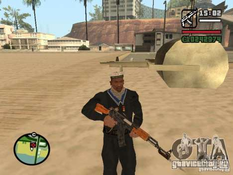 Моряк для GTA San Andreas третий скриншот