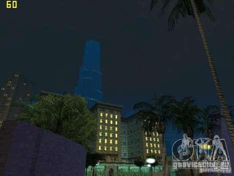 GTA SA IV Los Santos Re-Textured Ciy для GTA San Andreas двенадцатый скриншот
