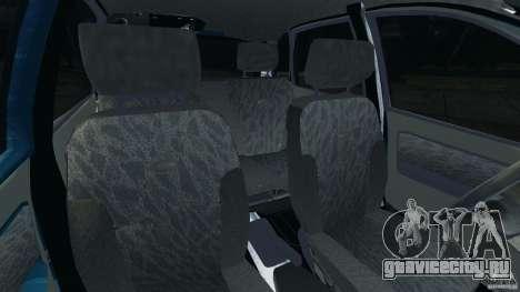 ВАЗ-1119 Калина для GTA 4 вид изнутри