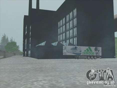 Новый завод Adidas для GTA San Andreas пятый скриншот