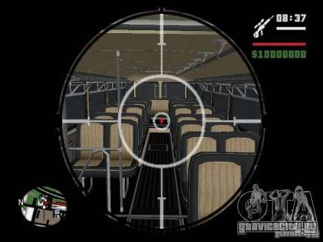 Ikarus 630 для GTA San Andreas вид сзади
