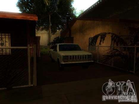 New Car in Grove Street для GTA San Andreas пятый скриншот