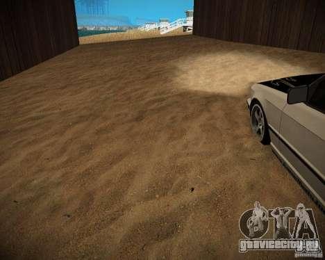 New textures beach of Santa Maria для GTA San Andreas девятый скриншот