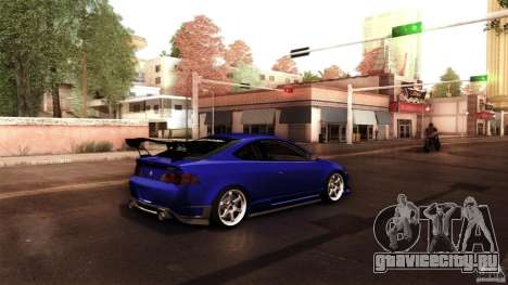 Acura RSX Spoon Sports для GTA San Andreas вид сзади