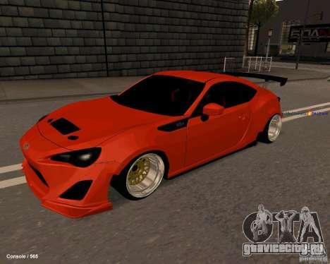 Scion FR13 для GTA San Andreas