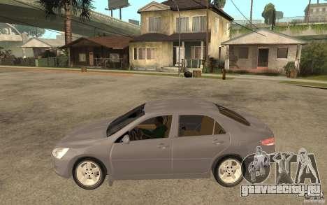Honda Accord 2004 v2 для GTA San Andreas вид слева
