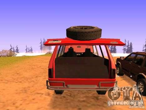Huntley Superior для GTA San Andreas вид сверху