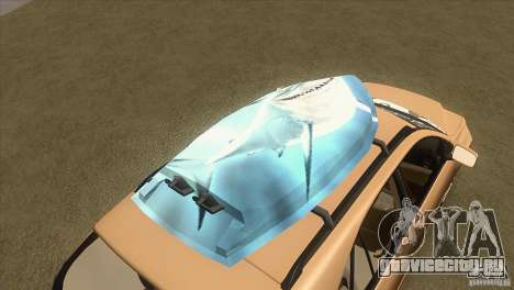 Lexus RX350 для GTA San Andreas вид сверху