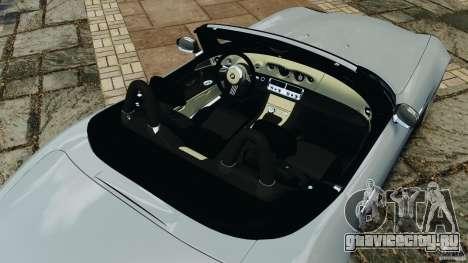 BMW Z8 2000 для GTA 4 вид сверху