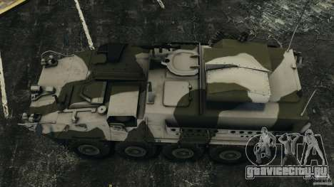Stryker M1134 ATGM v1.0 для GTA 4 вид справа