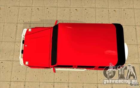 Mercedes-Benz G500 Brabus для GTA San Andreas вид справа