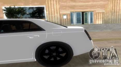 Chrysler 300C SRT V10 TT Black Revel 2011 для GTA Vice City вид слева