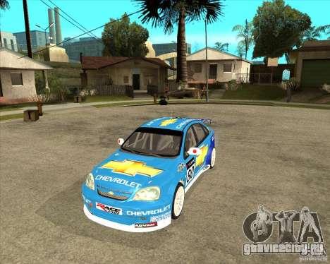 Chevrolet Lacetti WTCC для GTA San Andreas