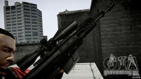 Accuracy International AS50 для GTA 4 четвёртый скриншот