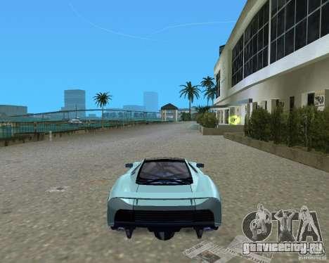 Jaguar XJ220 для GTA Vice City вид справа