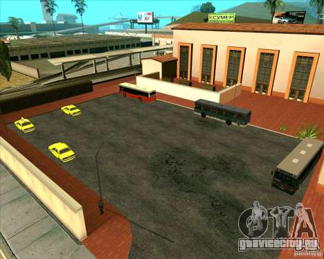 Припаркованый транспорт v1.0 для GTA San Andreas второй скриншот