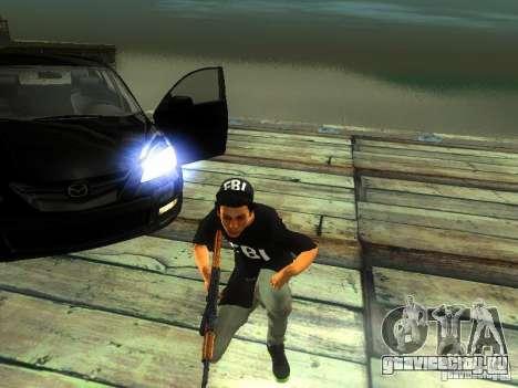 Пацан в FBI для GTA San Andreas второй скриншот