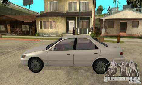 Toyota Camry 2.2 LE 1997 для GTA San Andreas вид слева