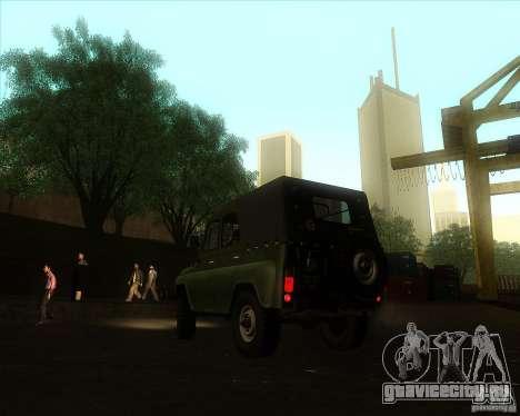 Уаз 31512 Военный для GTA San Andreas вид слева