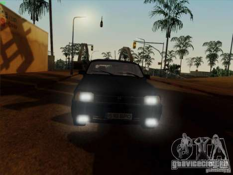 Dacia 1310 L Sport для GTA San Andreas вид изнутри