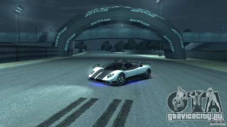 Pagani Zonda Cinque 2009 для GTA 4 вид изнутри