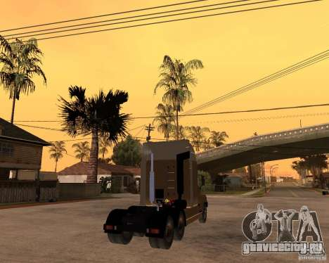 СуперЗиЛ v.2.0 для GTA San Andreas вид сзади слева