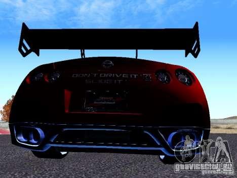 Nissan Skyline R35 Drift Tune для GTA San Andreas вид справа